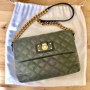 "Marc Jacobs Leather ""Single"" Quilted Shoulder Bag"